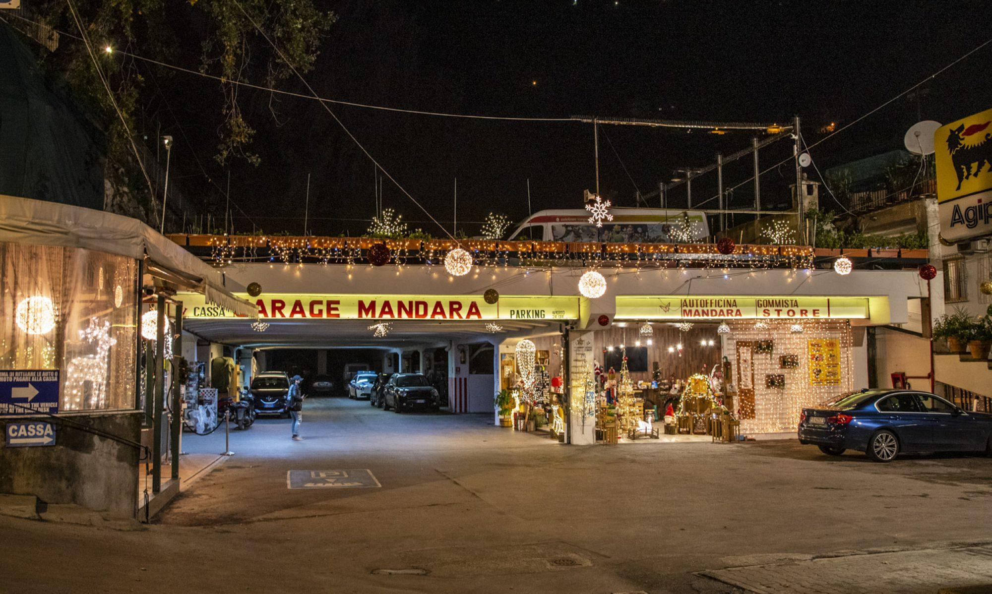 Mandara Parking and Store Positano
